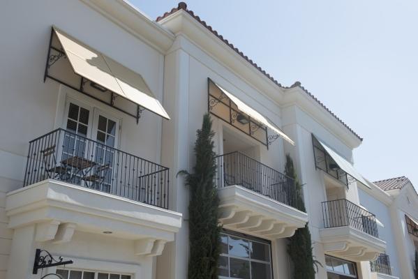 LoftWorks at Tenaya is shown at 6405 South Tenaya Way in Las Vegas.  The first phase of the project has 27 units spread in  three buildings.   (Jason Ogulnik/Las Vegas Review-Journal)