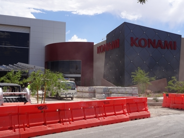 Craig A. Ruark/Special to the Las Vegas Business Press   At Konami Gaming, the retrofitted 123,000-square-foot existing building and a 193,000-square-foot addition are pending LEED certification b ...