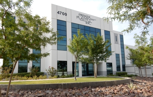 Aided by state and local incentives, Parker Plastics Inc. expanded its operations to this 70,000-square-foot leased space at 4700 Engineers Way in North Las Vegas. COURTESY PHOTO