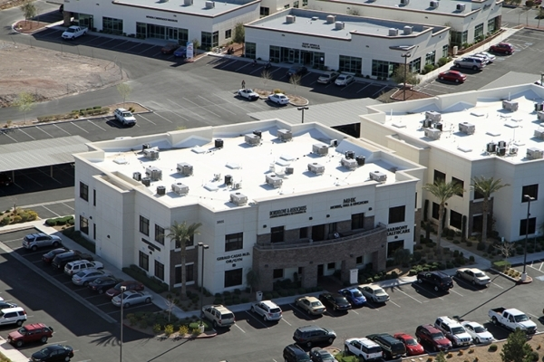 Lagomarsino Law Office leased 3,563 square feet of office space in the Seven Hills Medical Center II at 3005 W. Horizon Ridge Parkway., Suite 241, in Henderson.  Courtesy  of  Colliers International