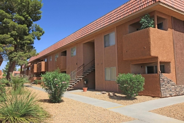Regency Heights, a 144-unit apartment complex at 36509 E. Lake Mead Blvd. in Las Vegas, has been sold for $6.768 million.  (Courtesy of NAI Vegas)