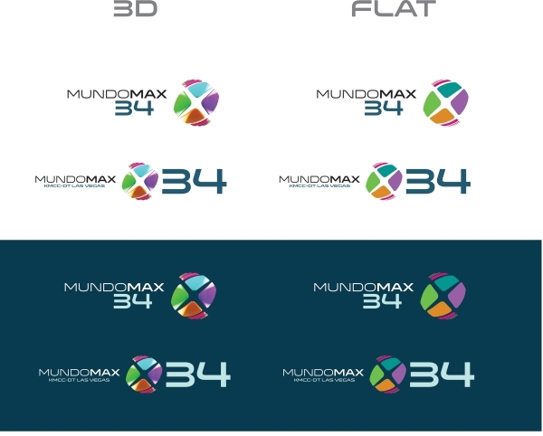Spanish-language station KMCC-DTV, Channel 34, is debuting a new logo for the new RCN-owned network. COURTESY PHOTO
