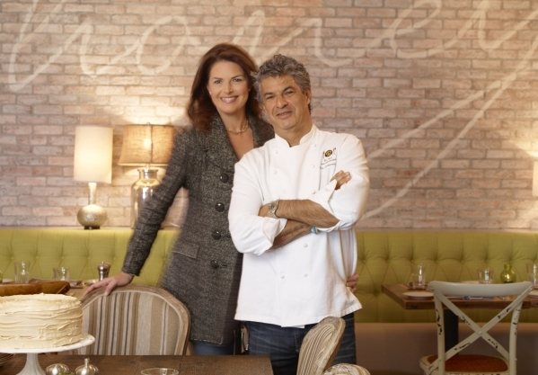 Elizabeth Blau and Kim Canteenwalla have become a power couple of the Las Vegas restaurant scene. (Courtesy)