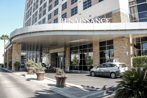 The Marriott Renaissance hotel on Paradise Road has been sold. (Ulf Buchholz, Las Vegas Business Press)