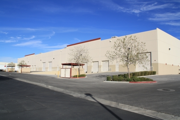 Water Shark Systems LLC paid $3.4 million for this 39,348-square-foot industrial building at 3828 Civic Center Drive in North Las Vegas. (Courtey, MDL Group)