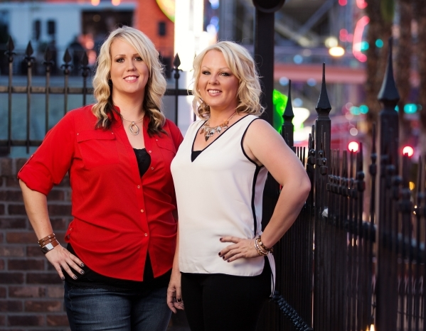 Sisters Samantha Lucas, left, and Heather Allen have grown their firm, Heather Allen Concepts, into a mercahndising leader. Courtesy