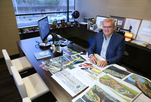 Paul Steelman, owner and chief executive officer of Steelman Partners, sits for a photo in his office Tuesday, Aug. 25, 2015, at 3300 W. Desert Inn Road in Las Vegas. Steelman Partners offers ente ...