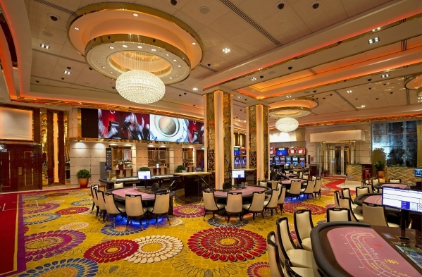 The gaming rooms at Galaxy Macau - Phase 2, a recently completed casino, are among the recent design Paul Steelman points to with pride. (Courtest Steelman)