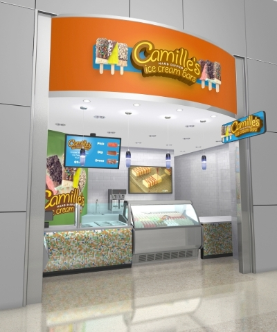 Camille's Ice Cream will try to expand its cassino connections with a booth at G2E. (Courtesy)