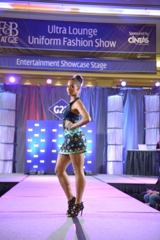 Cintas will again stage a fashion show at G2E featuring its diverse line of uniforms. (Courtesy)