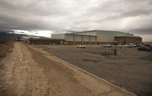 The Southern Nevada Recycling Complex, 333 West Gowan Road, North Las Vegas, on Tuesday, Sept.15, 2015. Republic Services' new 110,000-square-foot North Las Vegas recycling facility is sched ...
