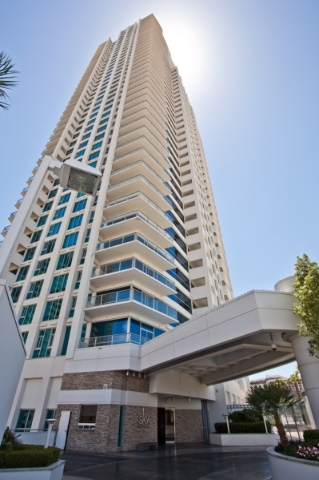 A San Diego investor has purchased 64 unsold condos in the Sky Las Vegas tower. (Courtesy)  Undated, summer 2015