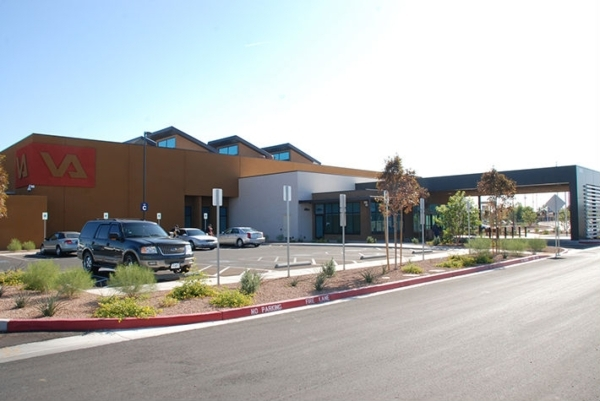 The building on Rancho Drive housing the Veterans Administration, has been sold for $26.75 million. (Courtesy)