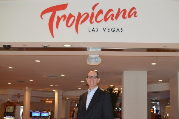Bob Sheldon sees good days ahead as the Tropicana transitions to the ownership of Penn National. (Stephanie Annis, special to the Las Vegas Business Press)