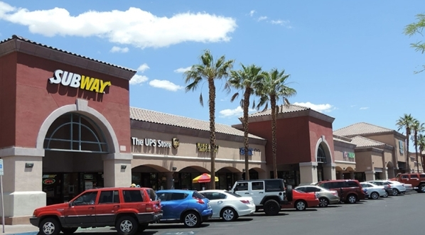 Summerlin Gateway Plaza LLC paid $22.5 million for a 6.58-acre/68,528 square-foot retail property at 7500 W. Lake Mead Blvd.  Courtesy of Colliers International