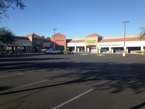 Doug and/or Regan Gubler purchased the 33,162 square-foot retail center at 11041 S. Eastern Ave in Henderson for $7.5 million. (Courtesy Colliers International)