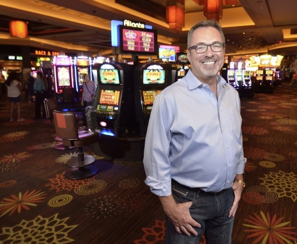 Terry Downey, president and general manager of the Aliante hotel-casino, is shown on the property at 7300 N. Aliante Parkway in North Las Vegas on Wednesday, Oct. 14, 2015. Bill Hughes/Las Vegas R ...