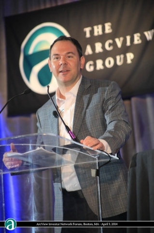 Troy Dayton, CEO and co-founder of the ArcView Group  Courtesy, 10/2015