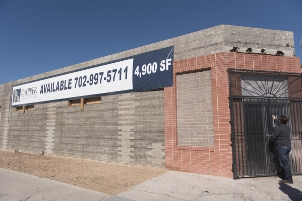 J. Dapper gives a tour of property acquired by Dapper Companies at 630 S. 11th St. in Las Vegas is seen Friday, Nov. 6, 2015. Jason Ogulnik/Las Vegas Review-Journal