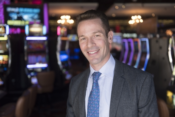 Seth Schorr, chairman at Downtown Grand Hotel & Casino poses at Downtown Grand Hotel & Casino in Las Vegas Monday, Nov. 9, 2015. Jason Ogulnik/Las Vegas Review-Journal