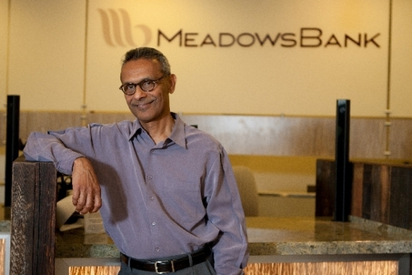 Arvind Menon, president and CEO of Meadows Bank. (File photo)