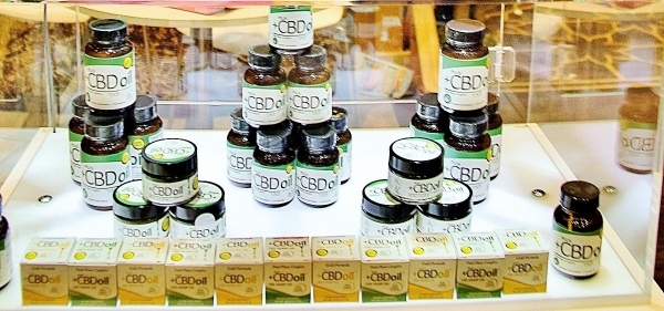Cannabidiol, the element of the hemp plant that carries virtually all of the medicinal value that cannabis holds, iss at the heart of many cannabis-infused products. (John Kelly/Las Vegas Business ...