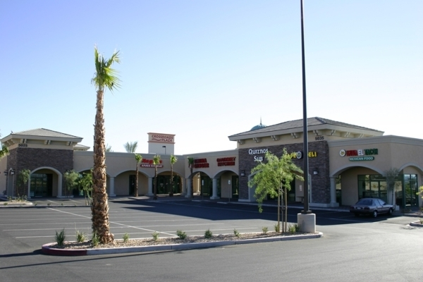 Crossroads Food Court LLC purchased an 11,919 square-foot retail property at 5025 S. Fort Apache Rd. in Las Vegas for  $3.475 million. (Courtesy Colliers International)   November 2015