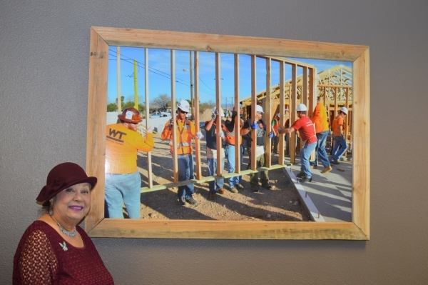 Eloiuza Martinez is a founding member of Habitat for Humanity's Las Vegas  Valley chapter. (Stephanie Annis, special to the Las Vegas Business Press)  November 2015