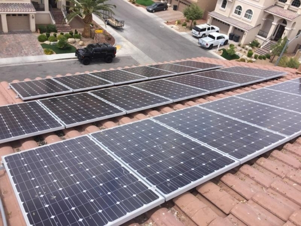 The average home is Southern Nevada is billed  $1,439 annually without solar and $168 annually with the installation of a rooftop solar system. Courtesy