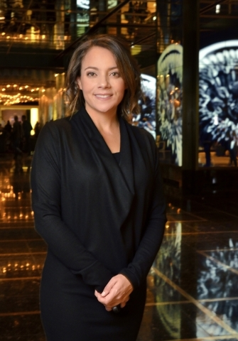 Mamie Peers, senior director of Digital, Social and eCommerce at the Cosmopolitan, is shown at the hotel-casino at 3708 Las Vegas Blvd. S. in Las Vegas on Friday, Dec. 11, 2015. Bill Hughes/Las Ve ...