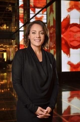 Mamie Peers, senior director of Digital, Social and eCommerce at the Cosmopolitan, is shown at the hotel-casino at 3708 Las Vegas Blvd. S. in Las Vegas on Friday, Dec. 11, 2015. Bill Hughes/Las Ve ...
