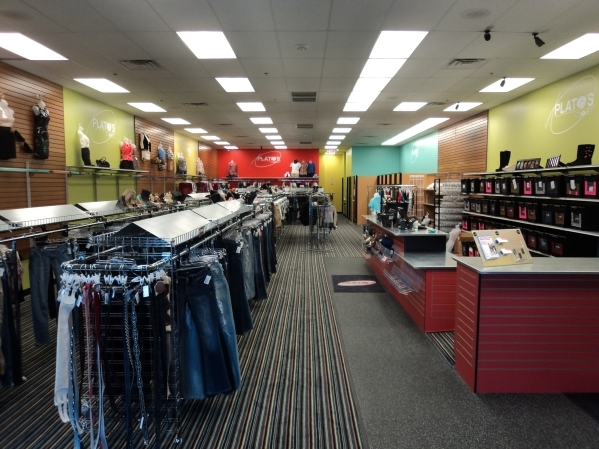 Winmark's business model -- whether clothes or sporting goods -- is to offer 'gently used' products for resale. Shown here is Plato's Closet.(Courtesy Winmark)