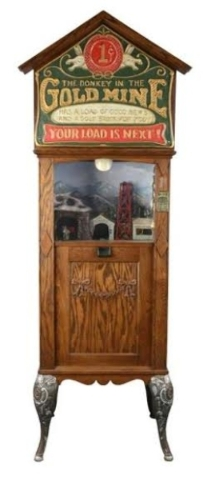 Vintage coin-operated gaming equipment will be autioned Jan. 30-31. (Courtesy)