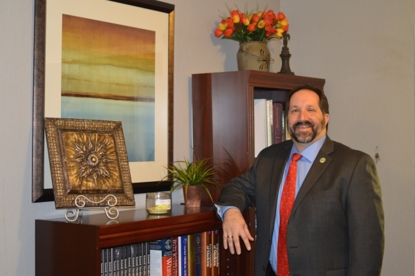 Dr. Andy Eisen is taking on a new role as chief academic officer at Valley Health System. (Stephanie Annis/special to the Las Vegas Business Press)