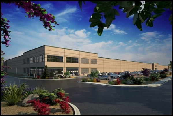 Priority Wire and Cable Inc. leased 233,169 square feet of industrial space in LogistiCenter Cheyenne at 4025 E. Cheyenne Ave. Courtesy of Colliers International
