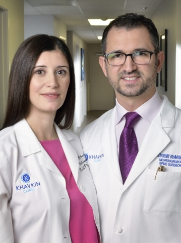 Drs. Jeannie and Yevgeniy Khavkin are shown at the Khavkin Clinic at 653 Town Center Drive in Las Vegas on Thursday, Jan. 21, 2016. Bill Hughes/Las Vegas Review-Journal