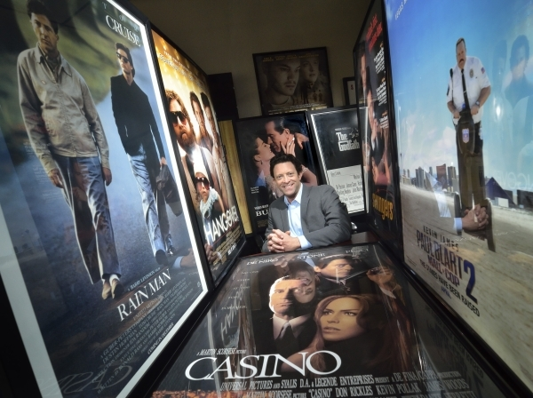Eric Preiss, director of the Nevada Film Office, is shown in the organizationþÄôs offices at 6655 W. Sahara Ave. in Las Vegas on Friday, Jan. 22, 2016. Bill Hughes/Las Vegas Review-Journal