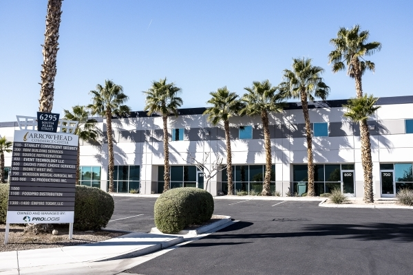 3G Productions signed a 180-month lease at Arrowhead Commerce Center in Henderson in 2015. ULF BUCHHOLZ/LAS VEGAS BUSINESS PRESS
