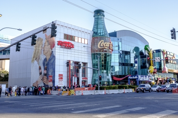 The sale of the Showcase Mall on the Strip was among the largest property transactions of 2015. ULF BUCHHOLZ/LAS VEGAS BUSINESS PRESS