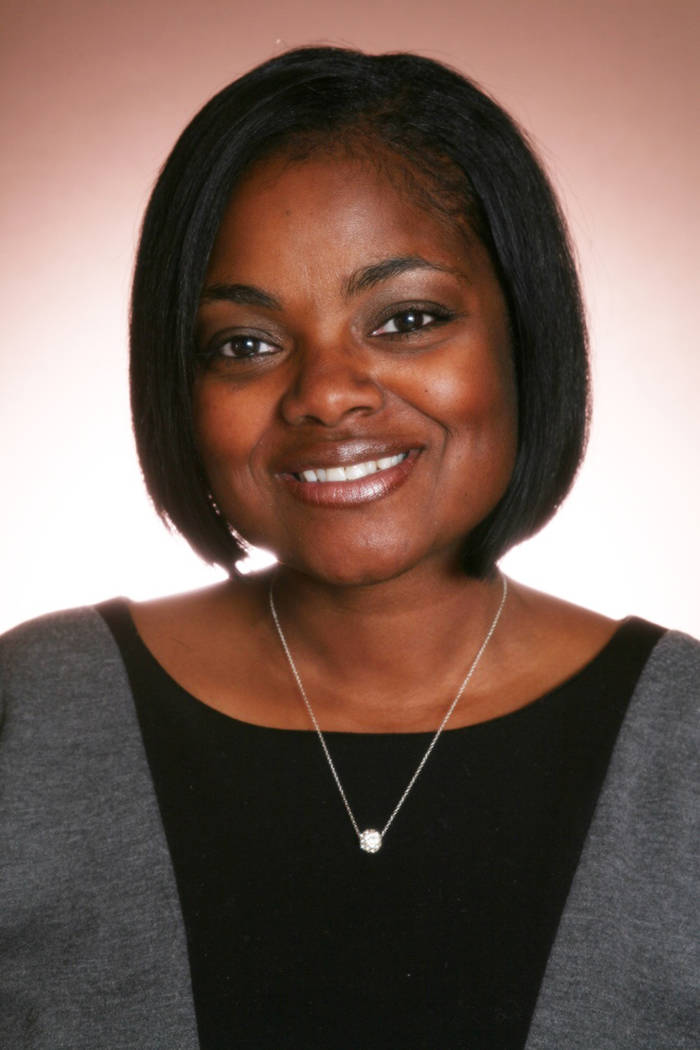 Monique Harris, executive director of Southern Nevada Children First, will be honored next month with the Las Vegas Black Image Magazine Award. (Courtesy)