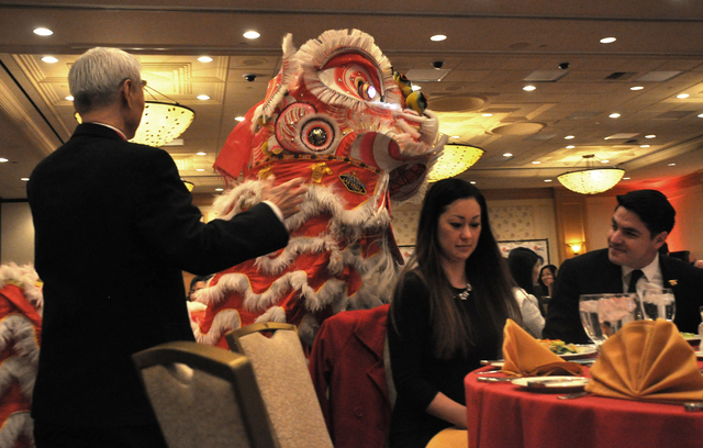 Southern Chinese Lion dancing was among the entertainment featured at the Las Vegas Asian Chamber of Commerce Chinese New Year Gala and Community Achievement Awards at the Gold Coast Casino, Feb.  ...