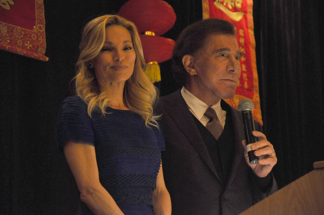 Casino mogul Steve Wynn was presented with the Community Achievement - Corporation Award by the Las Vegas Asian Chamber of Commerce during the organization's annual gala at the Gold Coast on Feb.  ...