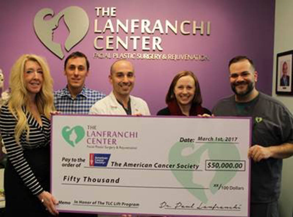 """Thanks to the generosity of the Lanfranchi Center Facial Plastic Surgery & Rejuvenation and """"TLC Lift For Life"""", the American Cancer Society will ensure more cancer patients in Las Vegas g ..."""