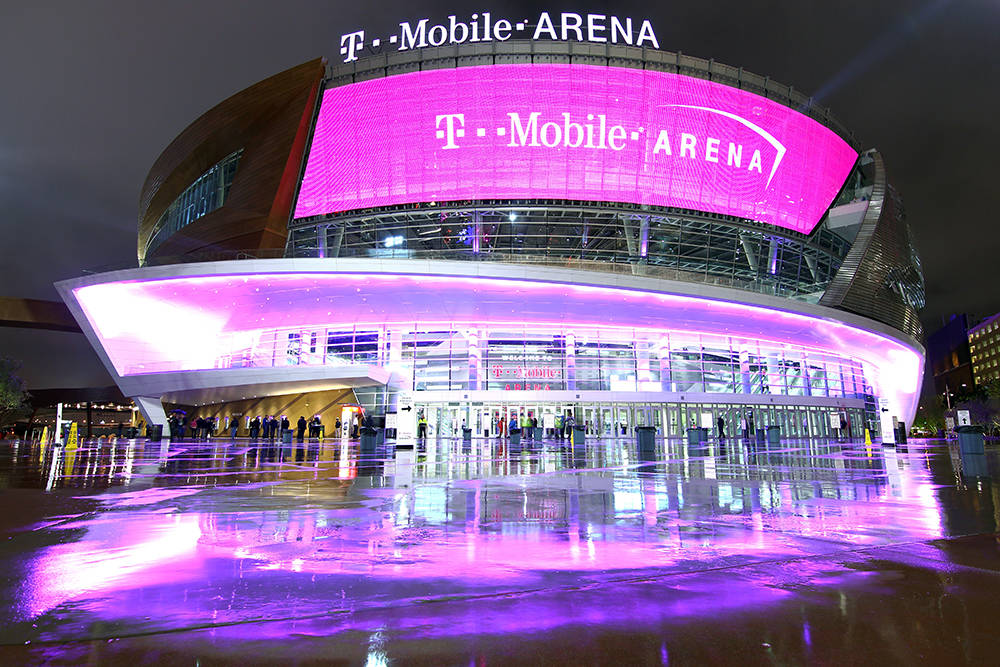 T-Mobile Arena won in the Special Use category for industrial projects. (Courtesy)