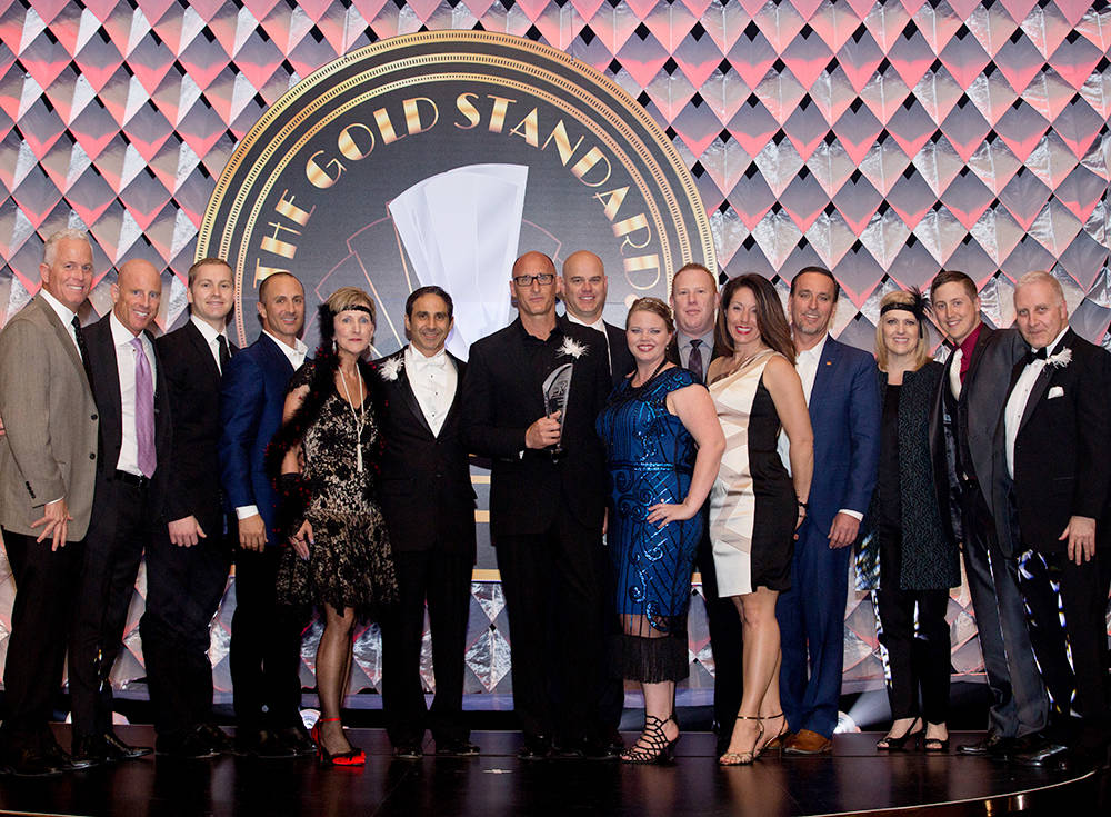 Colliers International won the Brokerage Firm of the Year Award. (Theresa McNally/Las Vegas Business Press)