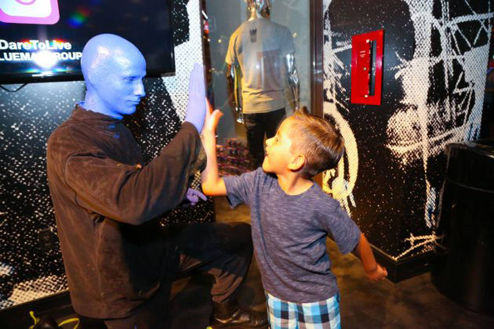 Blue Man Group at Luxor is offering exclusive sponsorship packages for its third annual Grant a Gift Autism Foundation benefit performance June 11. Blue Man Group will host a sensory-friendly show ...
