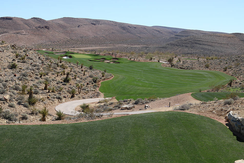 COURTESY The Summit Club's Tom Fazio championship golf course is complete and ready to open in April.