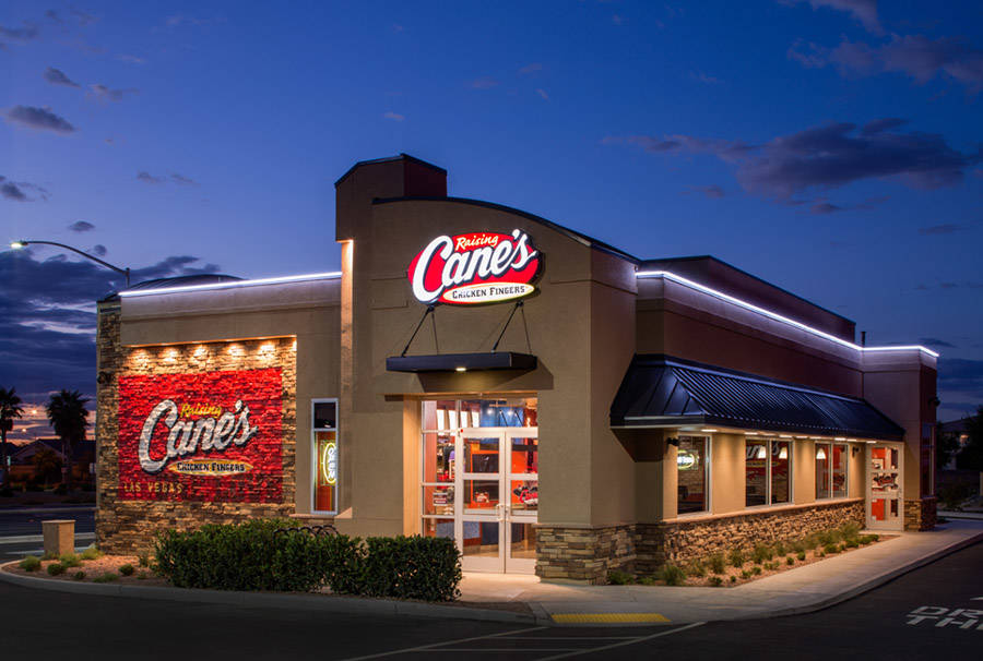 COURTESY DC Building Group completes work on 3,600-square-foot Raising Cane's at 110 N. Stephanie St.