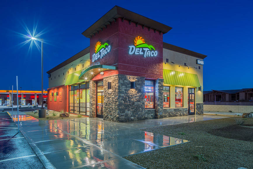 DC Building Group completes work on 2,500-square-foot Del Taco at 10485 Spencer St.