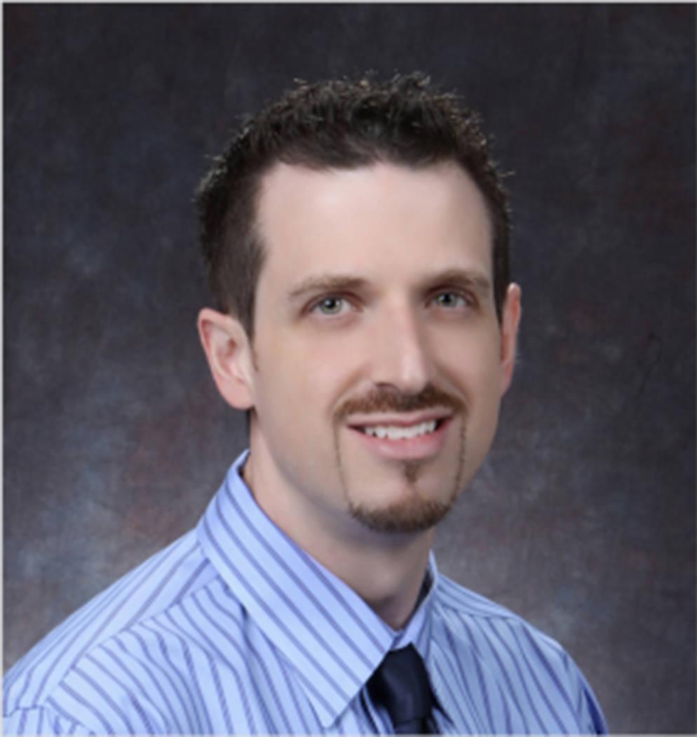 CSN Dean Josh Hamilton recognized for contributions to health care. (Courtesy)
